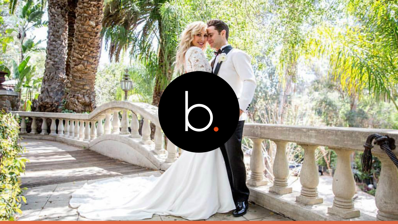 Emma Slater and Sasha Farber got married