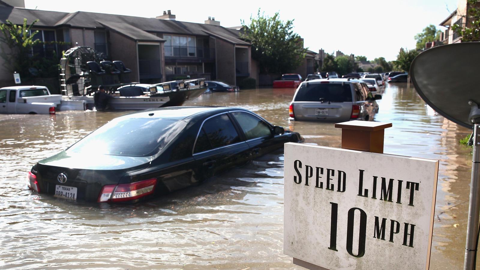 Houston contempla el proyecto para el control de inundaciones