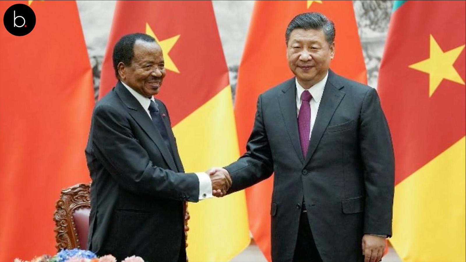 Cameroun : Paul Biya en visite officielle en Chine
