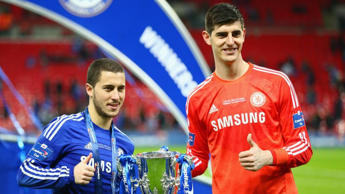 El futuro de Hazard y Courtois en el Chelsea está en peligro