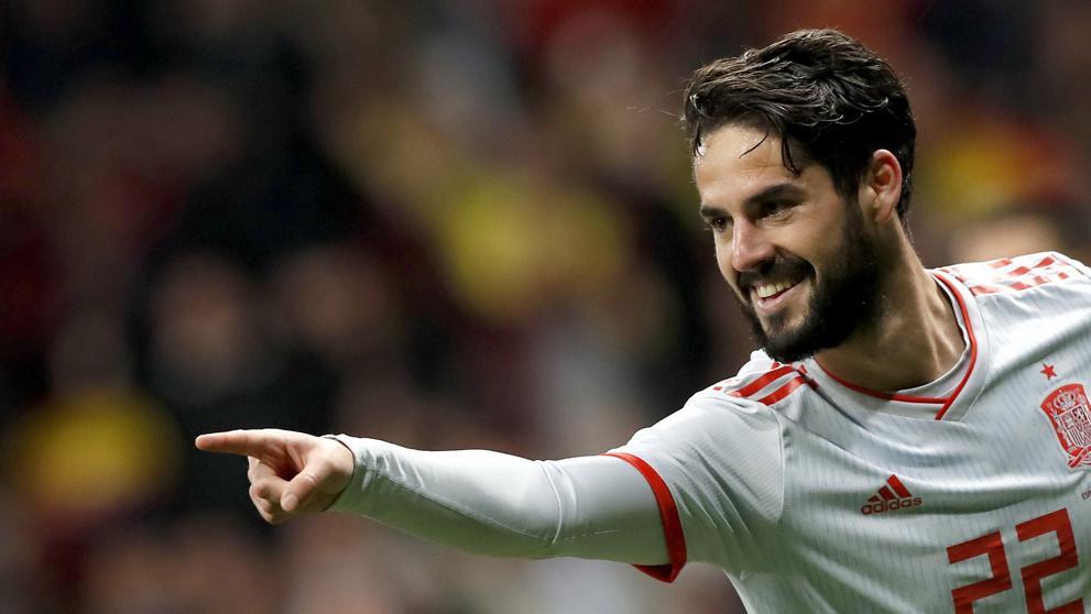 Isco de nuevo es el héroe de España