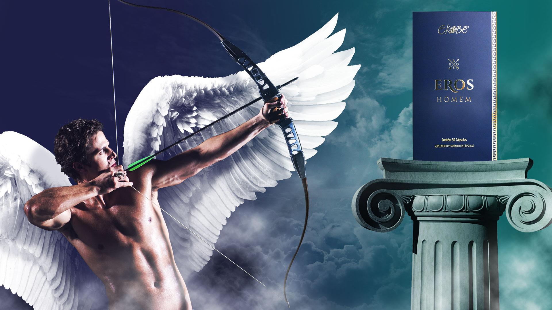 Quem era o deus Eros na Mitologia Grega