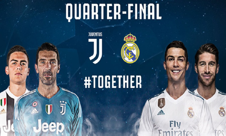 Champions, dove vedere Juventus-Real Madrid in streaming e diretta tv?