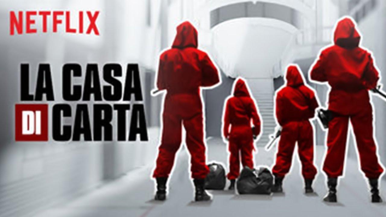 Anticipazioni Netflix: torna la 'Casa di Carta'