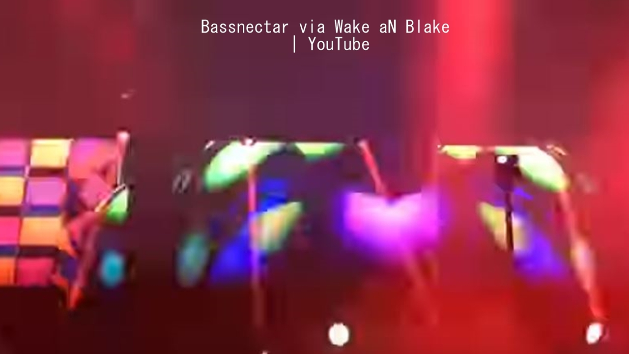 Bassnectar and the incredible mix of light and sound