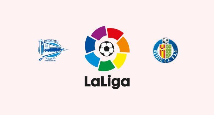 En juego cerrado entre el Deportivo Alavés y Getafe FC