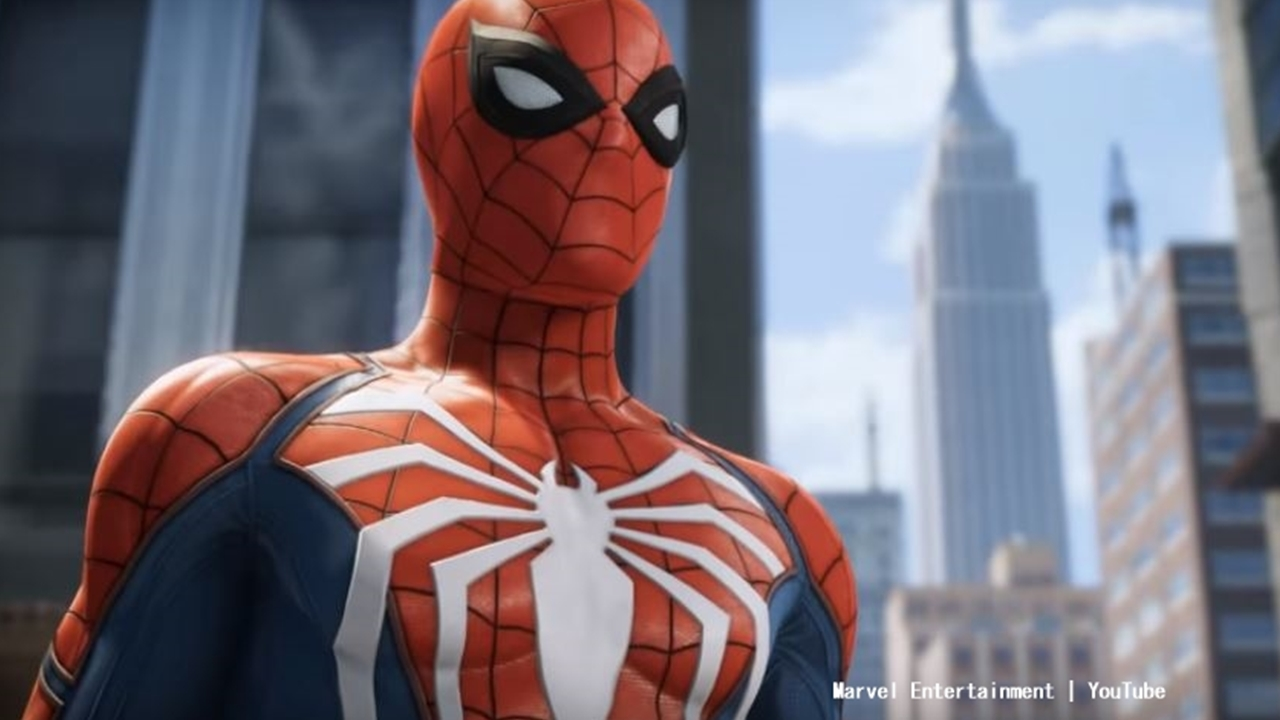 Free-roam across New York Cty in 'Spider-Man' (PS4).