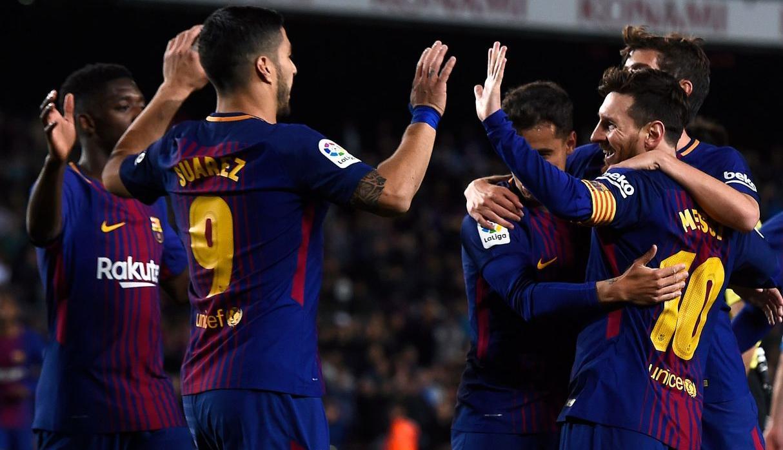 Leo Messi imparable ante el Leganés
