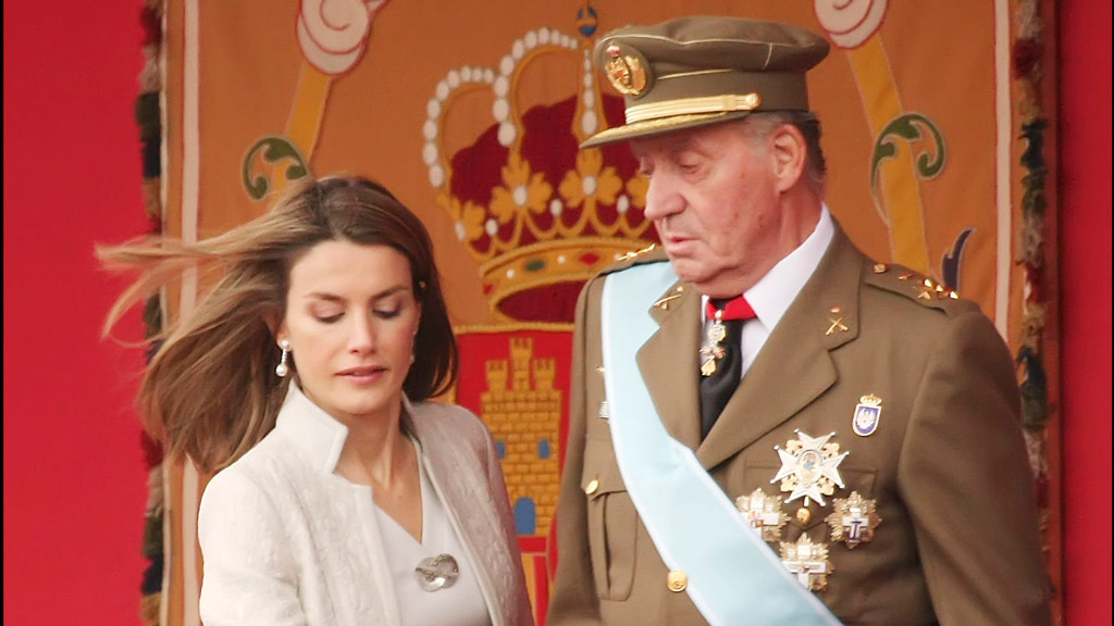 La relación entre D. Juan Carlos I y Letizia pasa por su peor momento