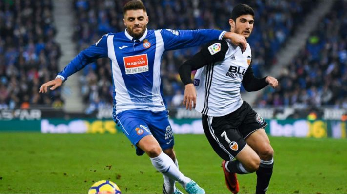 Un gol del Valencia CF le basto para ganarle al Espanyol