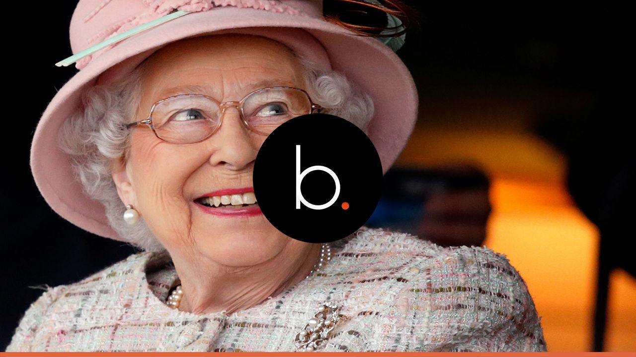 Queen Elizabeth makes a joke about Trump