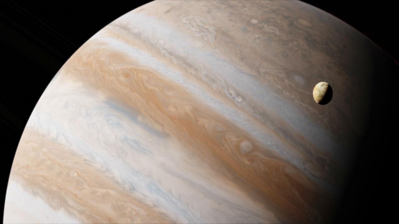 NASA's JunoCams reveals stunning images of Jupiter's clouds