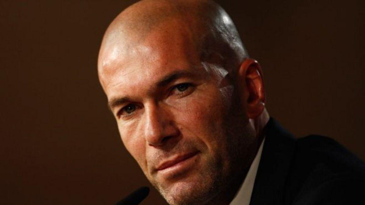 Zidane anuncia qué jugador quiere en Madrid