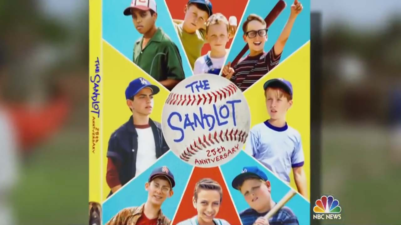 """'The Sandlot"""" cast reunites after 25 years, but where is Benny?"""