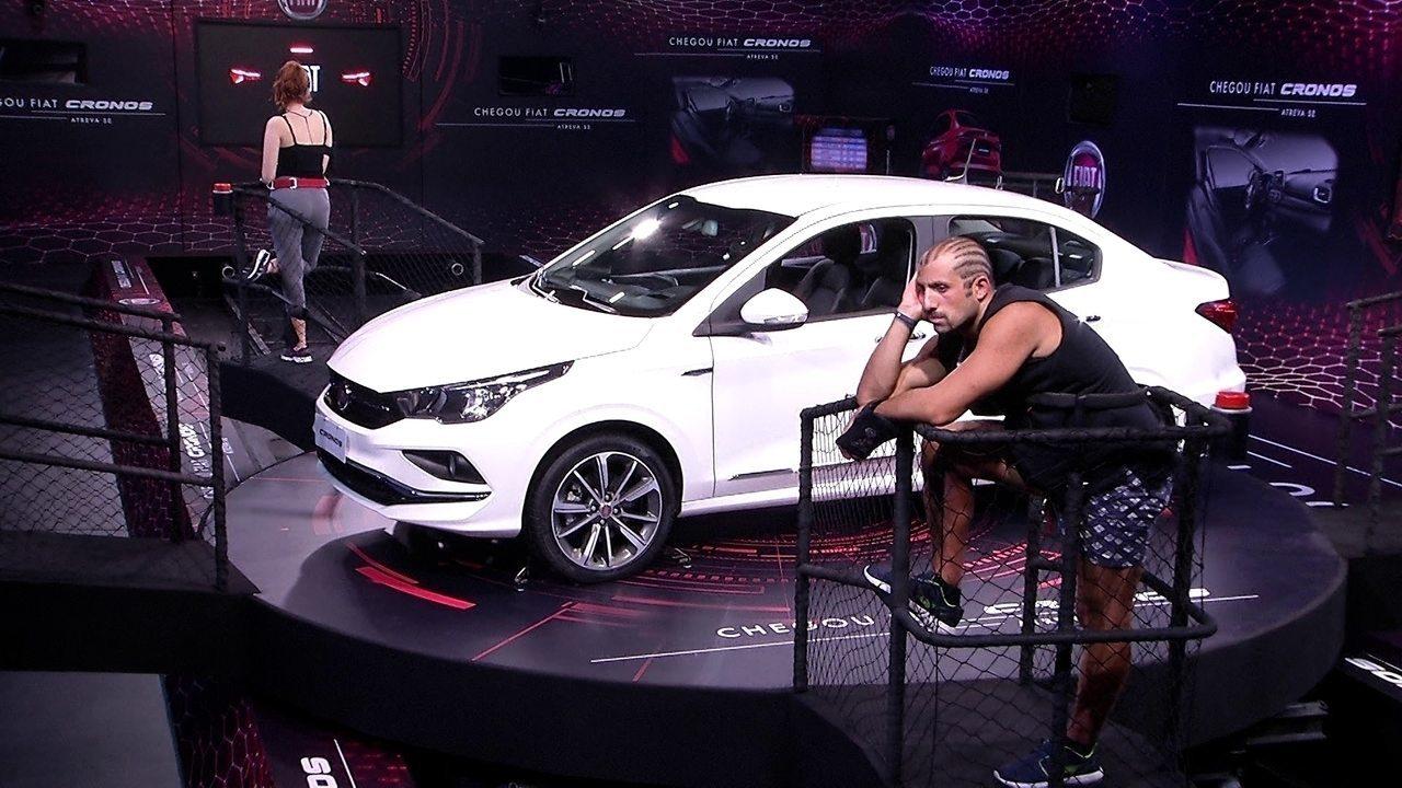 Vídeo: Tiago Leifert decreta fim da prova no BBB18 e revela quem venceu