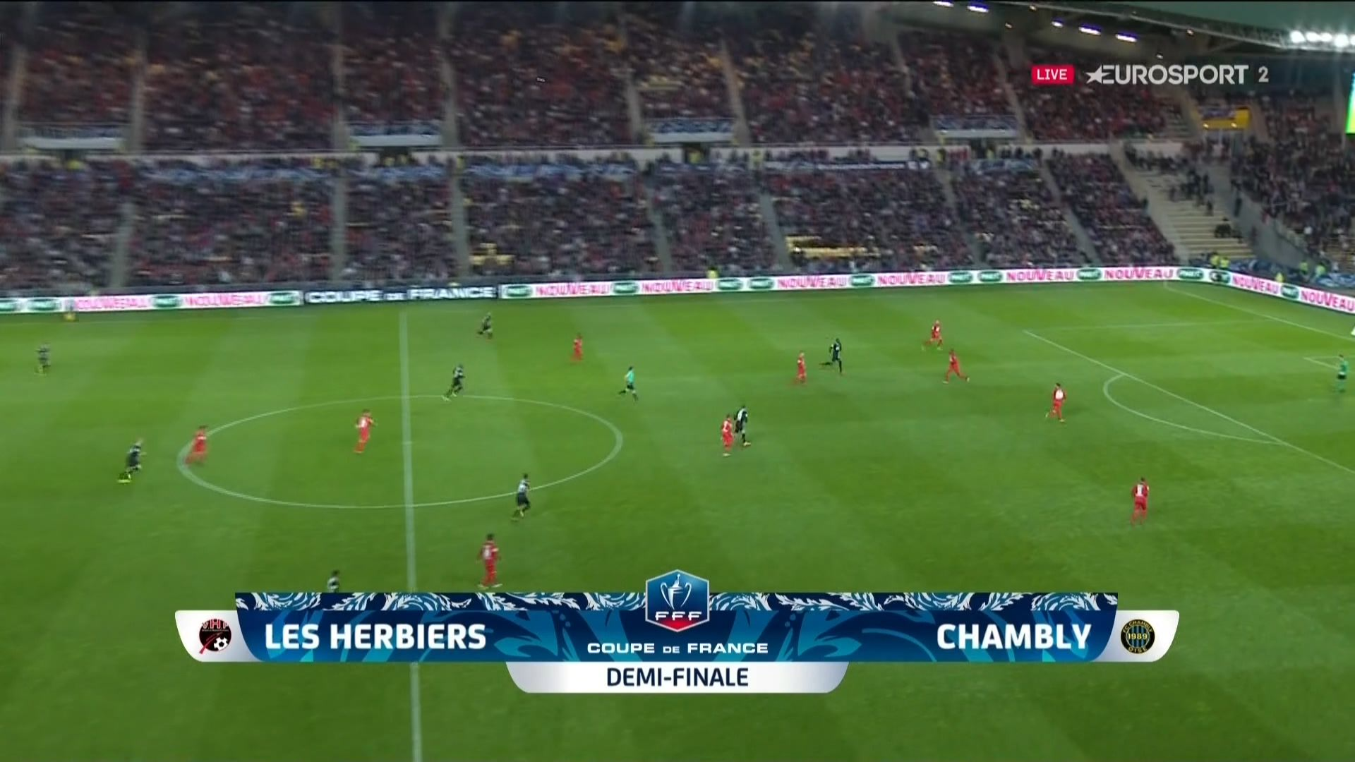 Coupe de France: el club de Herbiers en la final del campeonato
