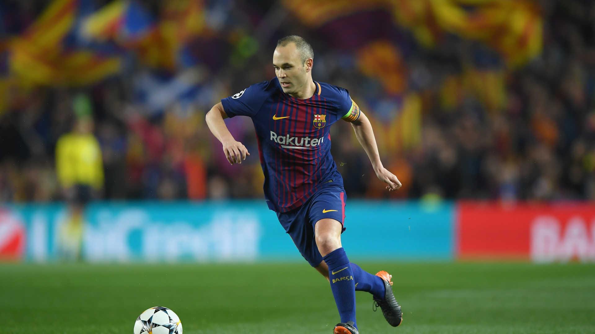 Ídolo se despede do Barça com lágrimas