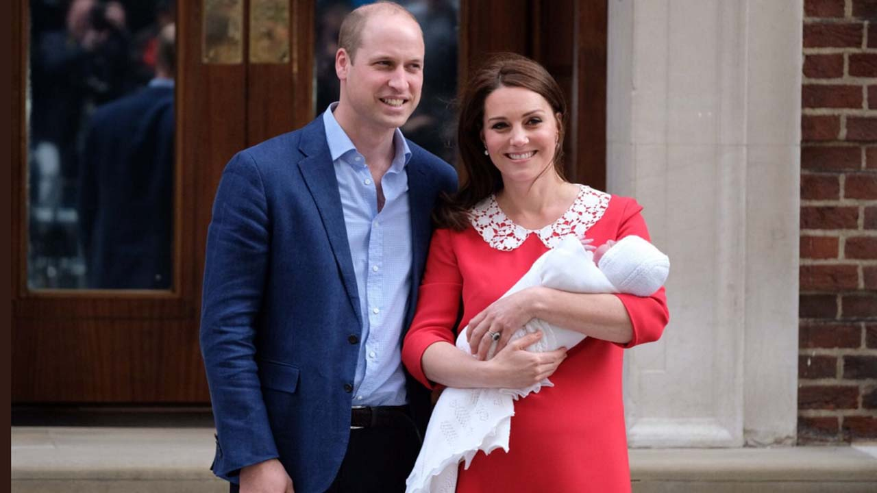 It's a prince! Prince William and Kate welcome another son