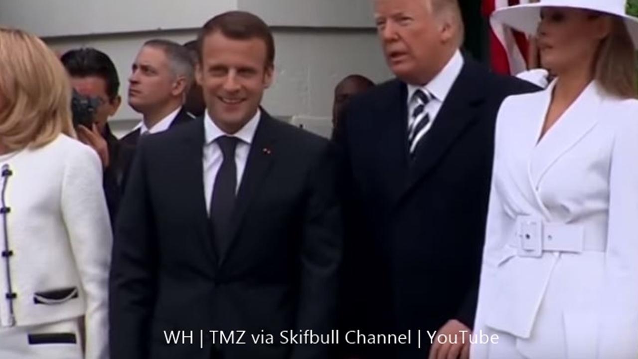Donald Trump and Melania get slammed over hand-holding fail
