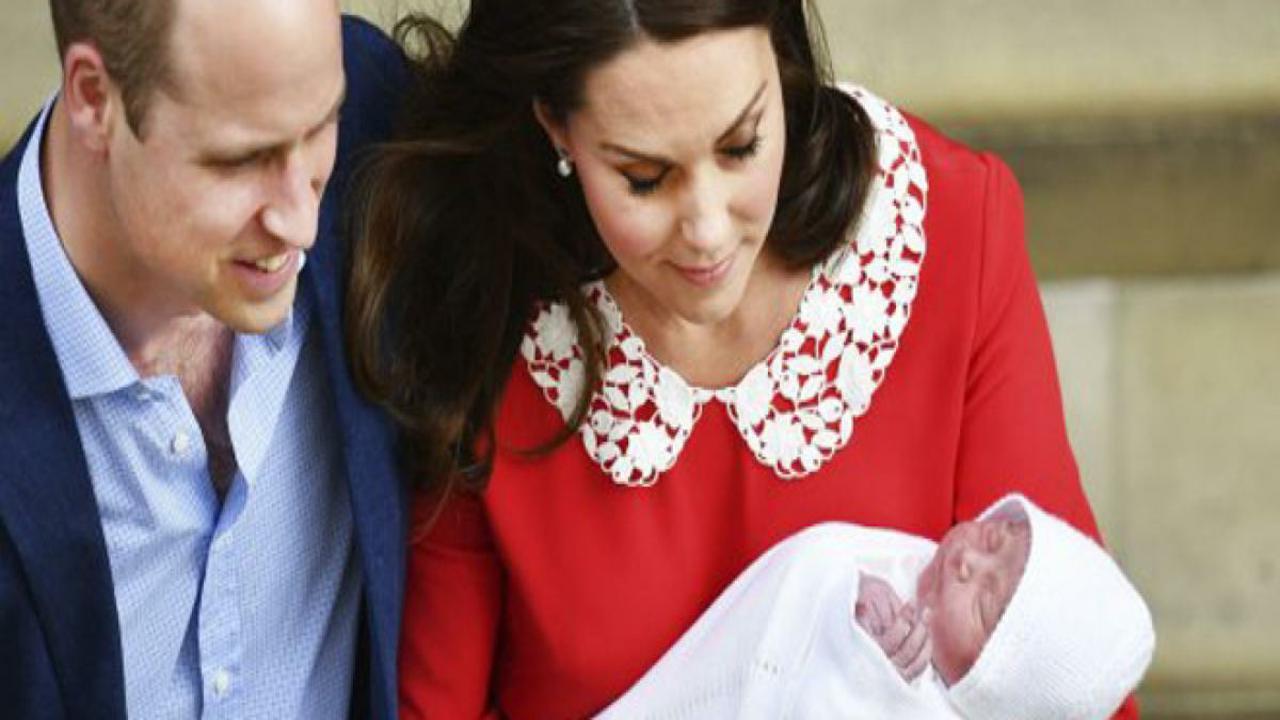 Royal baby, Kate e William danno il benvenuto al terzogenito
