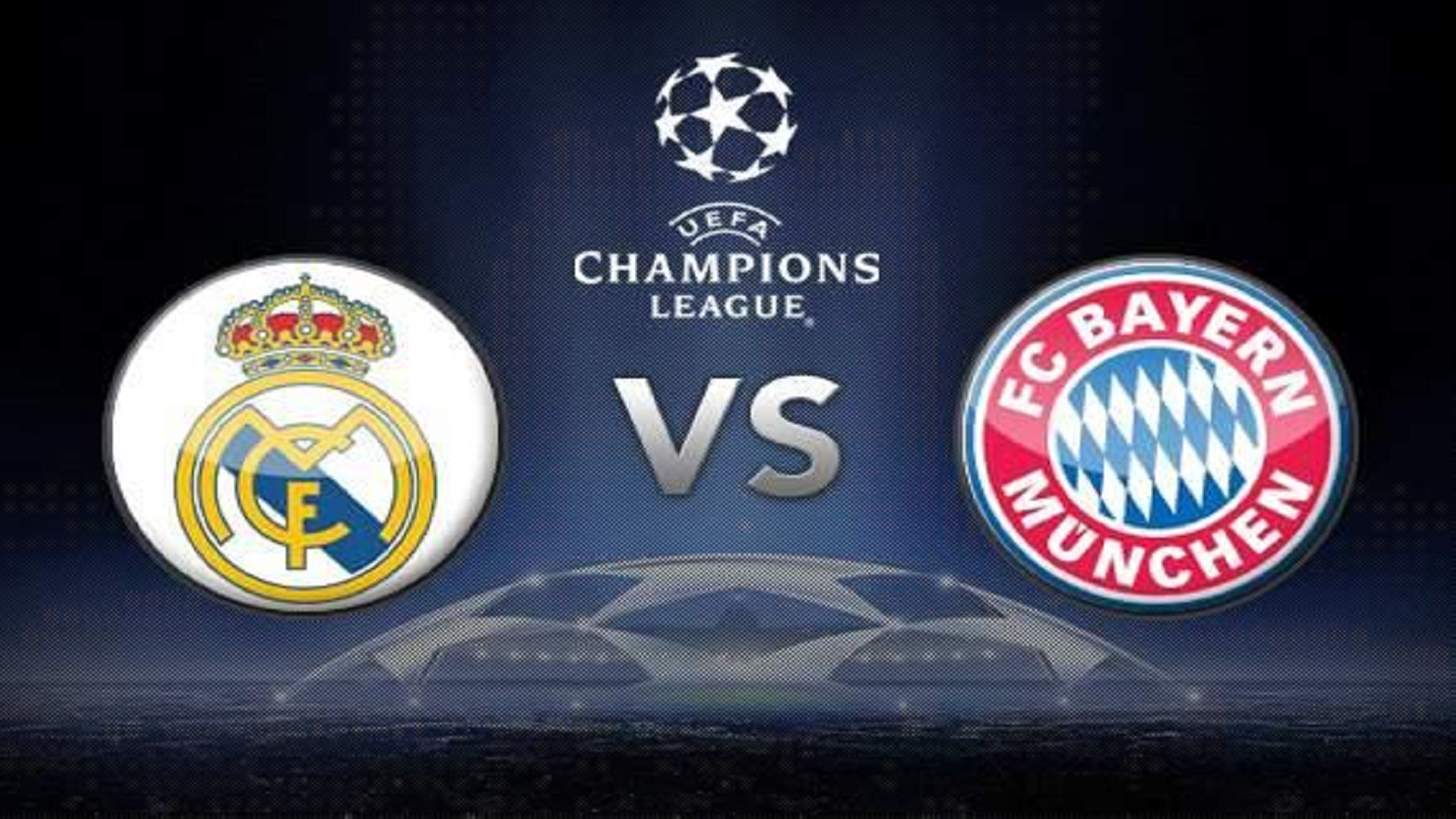 Los equipos Bayern vs Real Madrid en semifinales Champions League