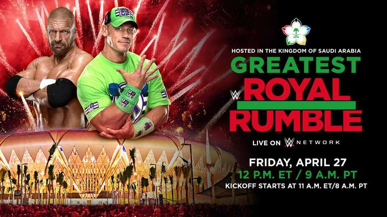 Two former superstars in Saudi Arabia for 'Greatest Royal Rumble'