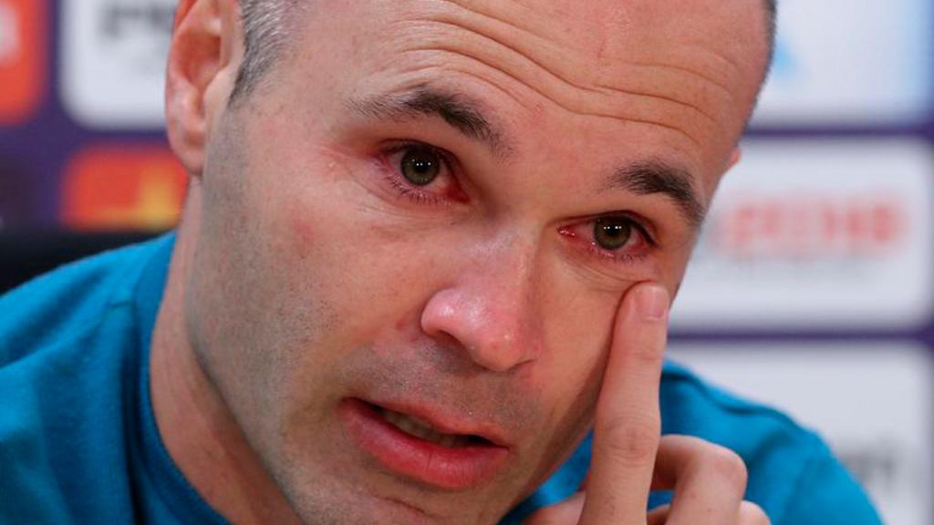 Adiós Iniesta: así fue la despedida de uno de los más grandes