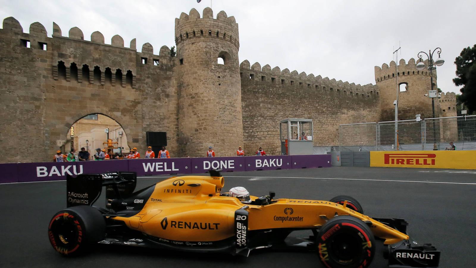 Fórmula 1: resumen del gran premio de Bakú