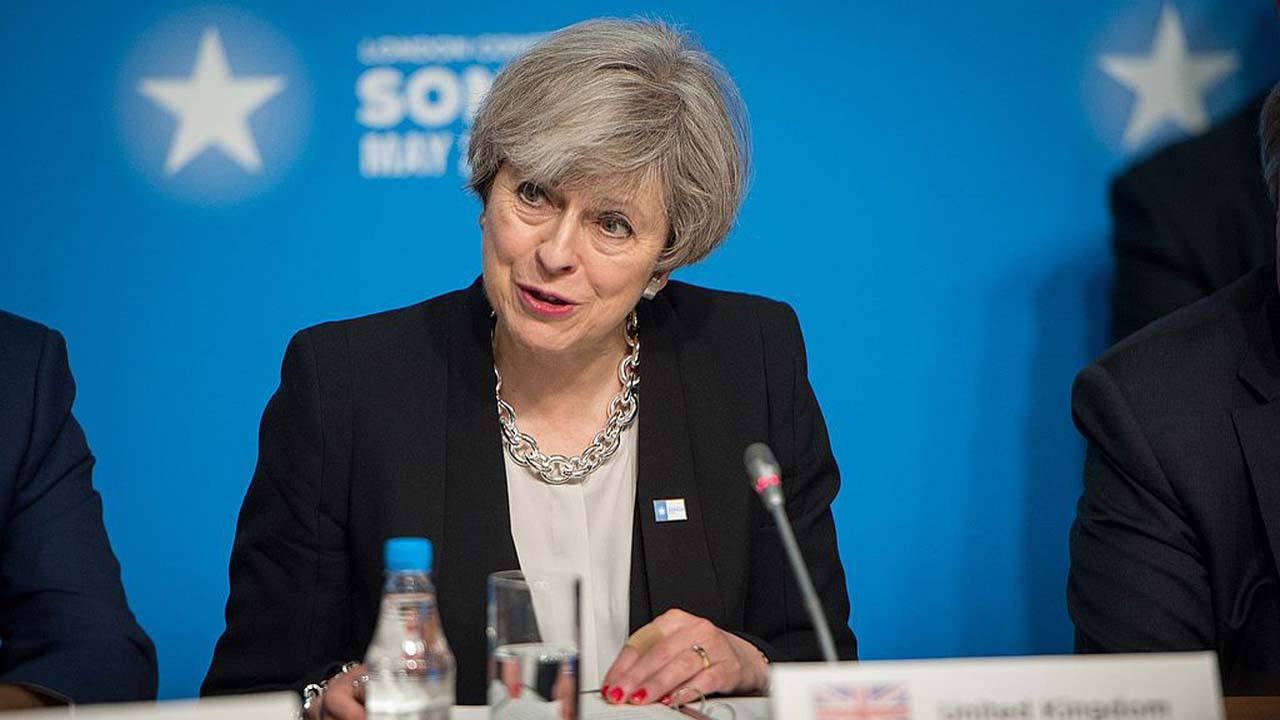 UK PM Theresa May responds to resignation of Amber Rudd