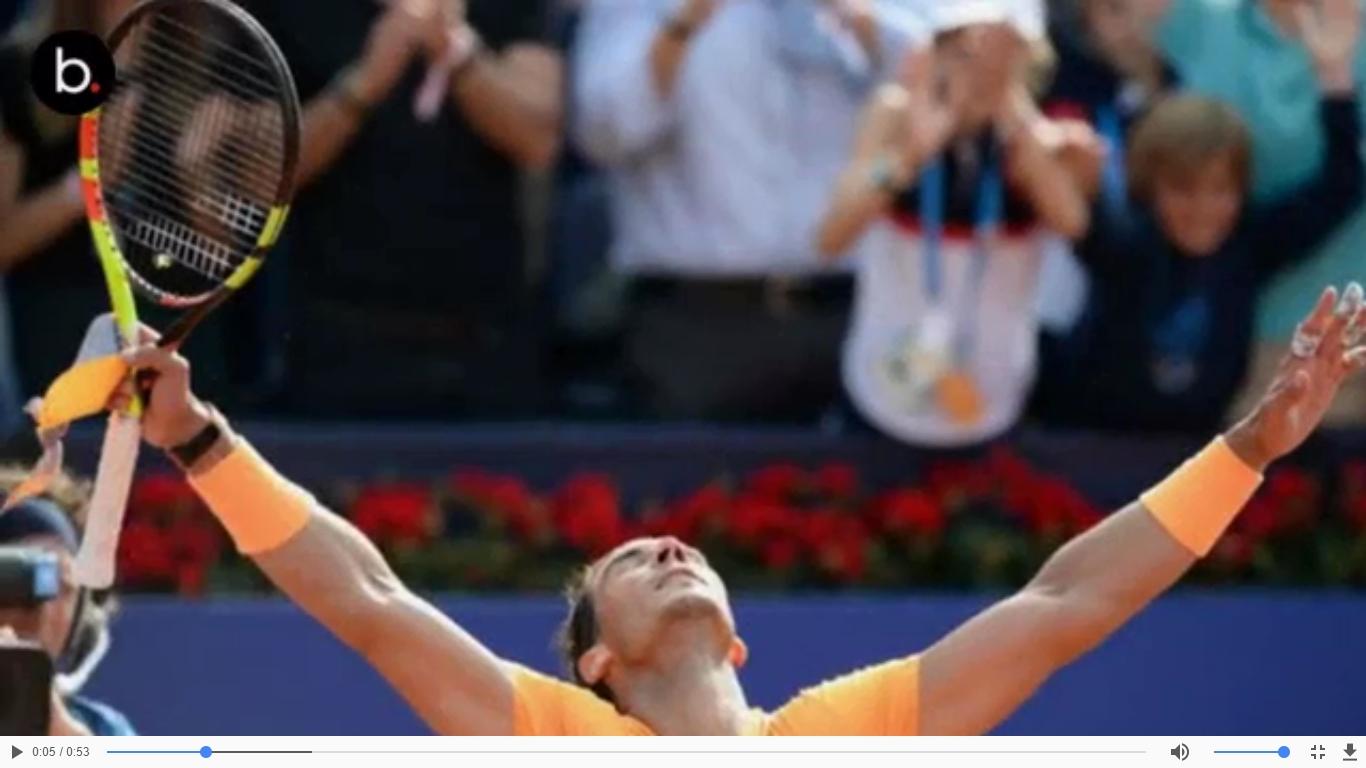 Tenis: El Torneo Godó le sonríe a Nadal por 11va vez