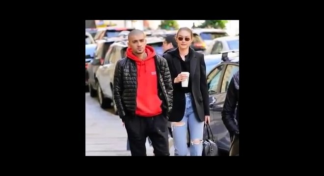 Gigi Hadid and Zyan Malik enjoy PDA in New York City