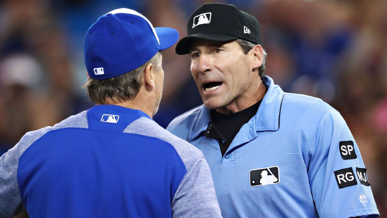 MLB umpire Angel Hernandez embroiled in controversy again