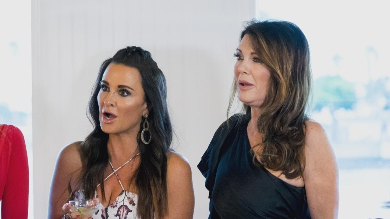 Kyle Richards gives details on the rumor that Heather Locklear is joining RHOBH