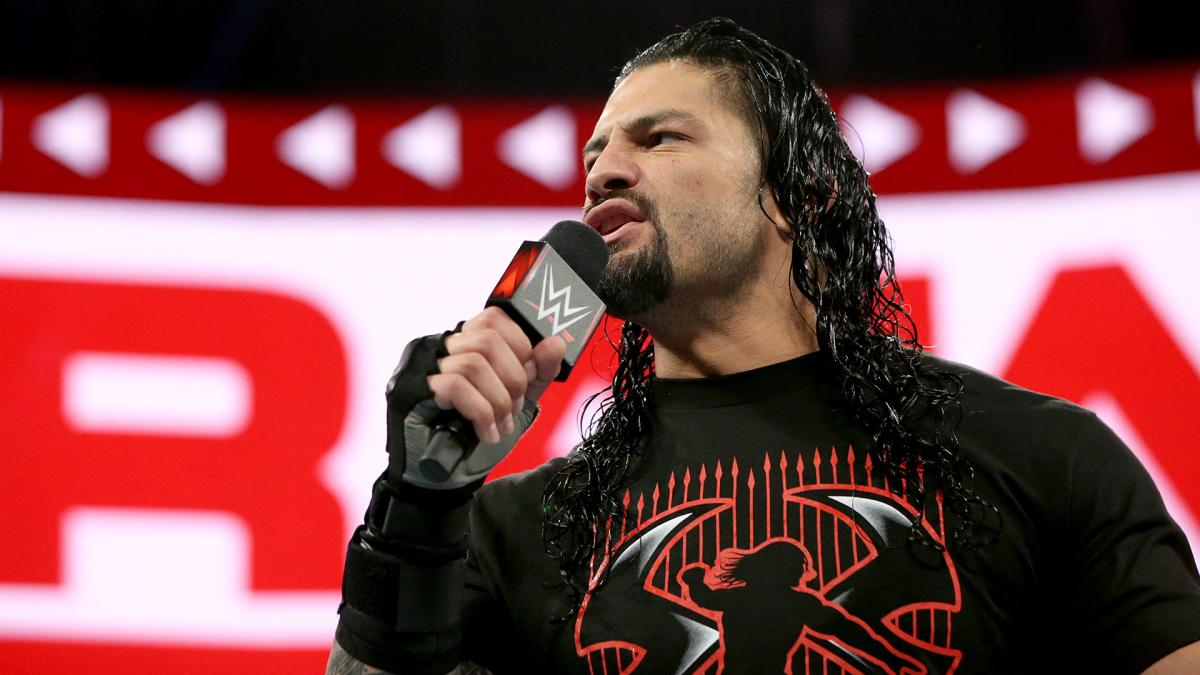 WWE Monday Night Raw not a good night for Roman Reigns