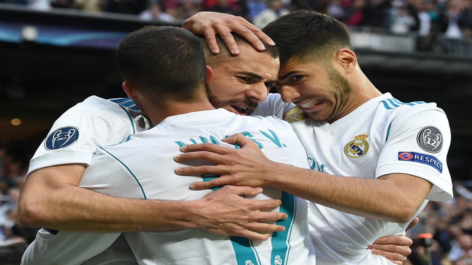 VIDEO: Benzema le responde en el campo a Florentino y Zidane