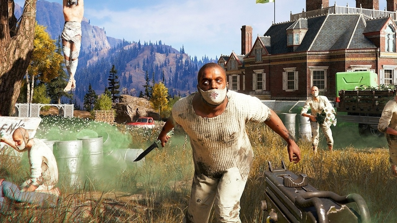 Far Cry 5: Amazing AI until the player steps into the picture