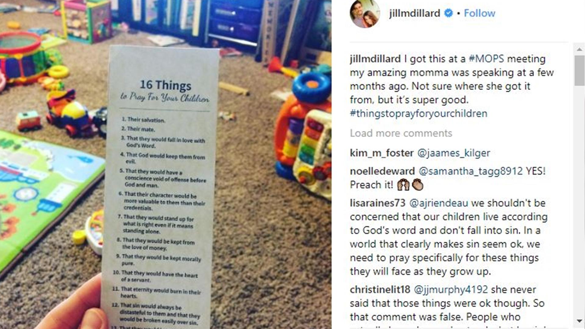 Jill Dillard Duggar gets into homophobia on Instagram