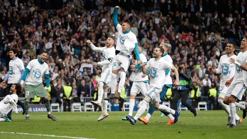 El equipo merengue a por la tercera Champions consecutiva