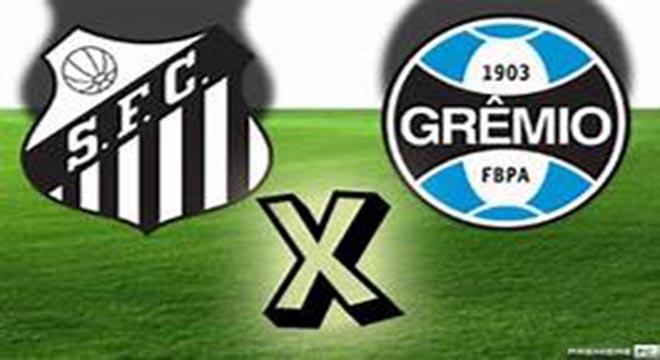 Vídeo: Grêmio goleia o Santos por 5 a 1 pelo Campeonato Brasileiro