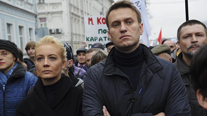 VIDEO - Russia: fermato Navalny, l'attivista anti-Putin