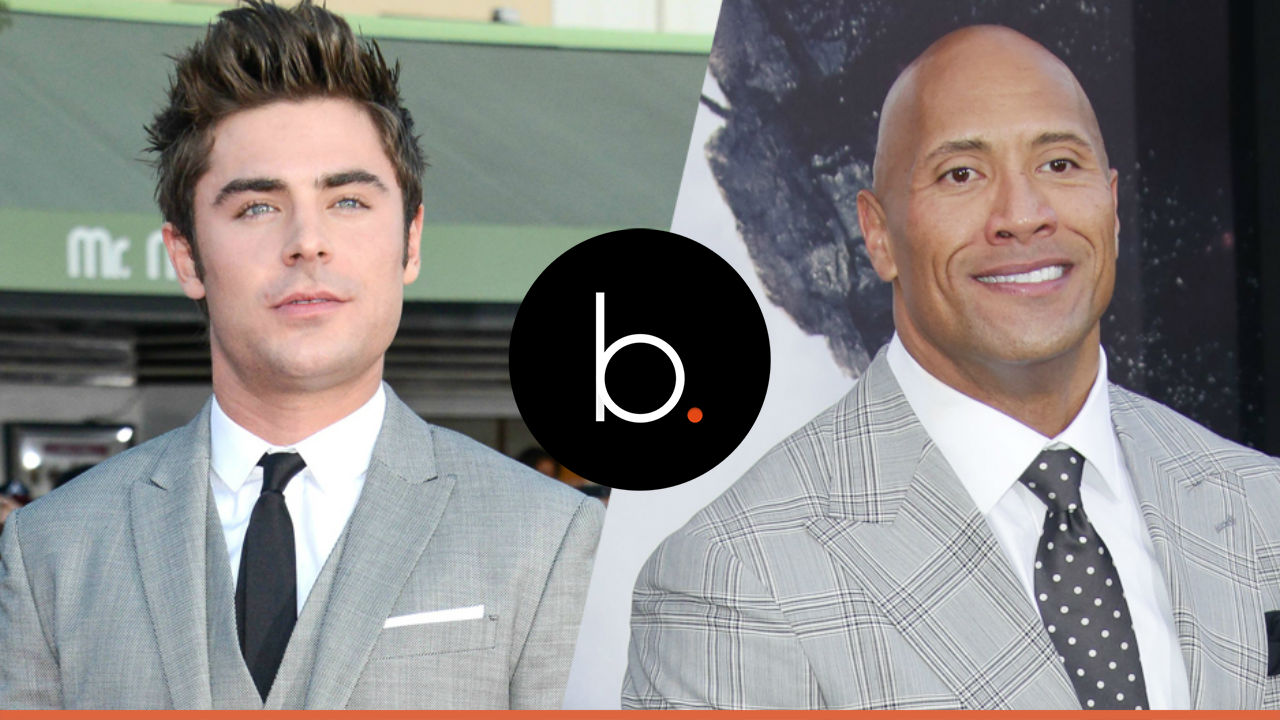 """Zac Efron in the mood for a romance with """"The Rock"""""""