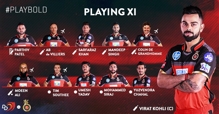 IPL 2018: RCB vs DD live online streaming on Hotstar and Star Sports