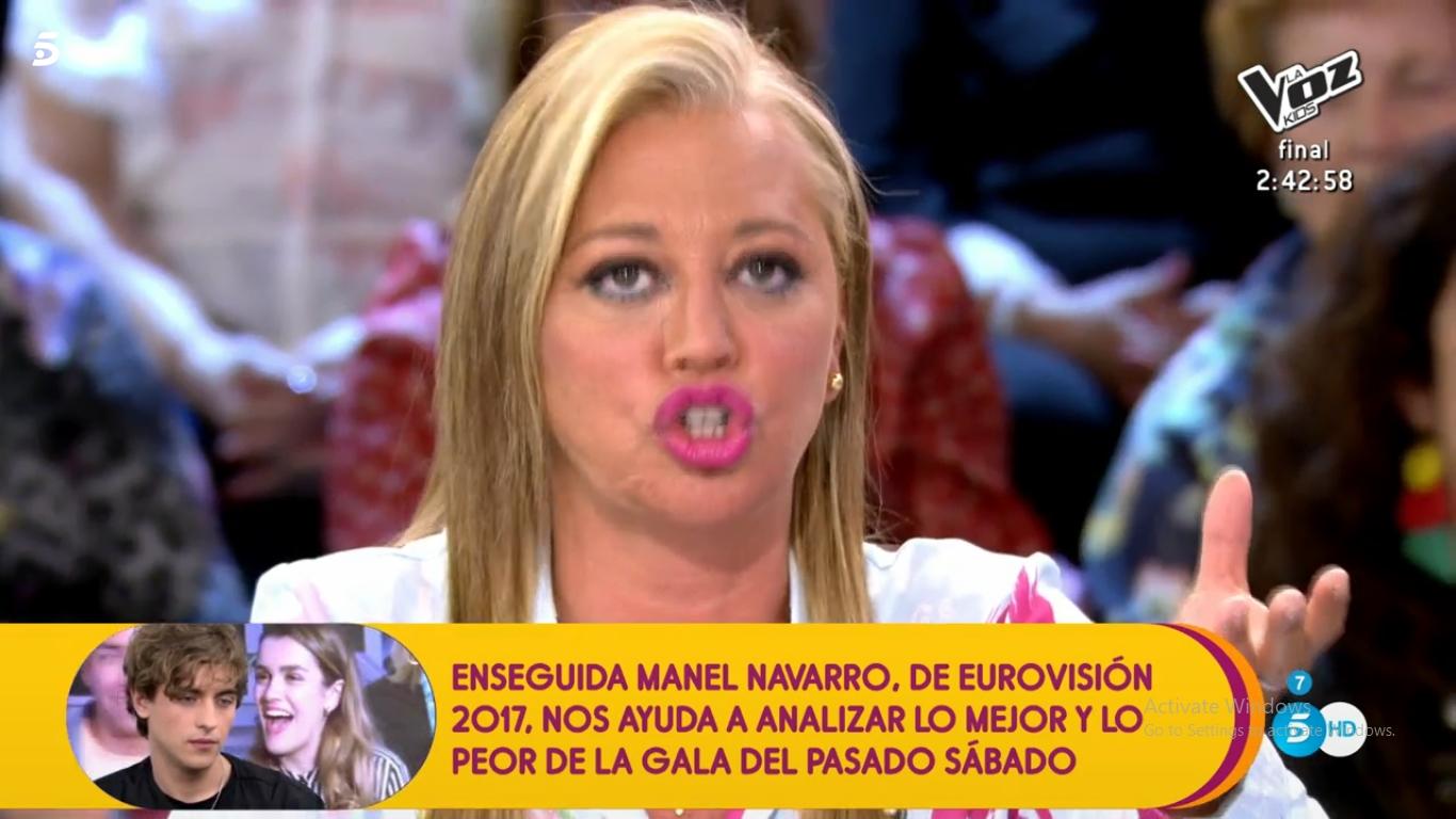 La reacción de Belén Esteban a la 'puñalada' de Jorge Javier Velásquez
