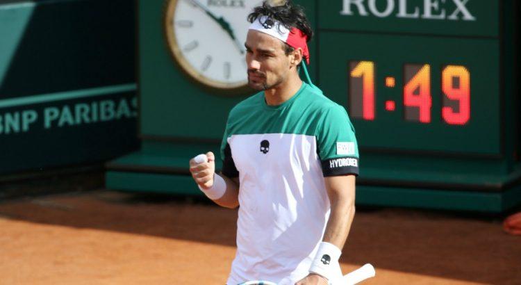 Tennis-ATP : Fabio Fognini fait tomber Dominic Thiem