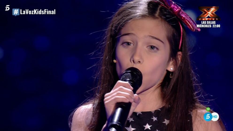 Melendi y Melani han ganado La Voz Kids 4