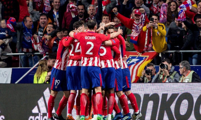 Los de el Cholo Simeone Se coronaron campeón de la Europa League