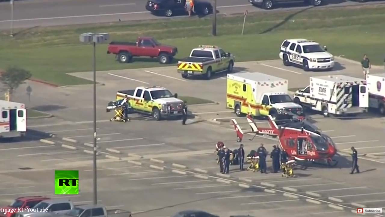 10 dead and 10 wounded at Santa Fe High School shooting