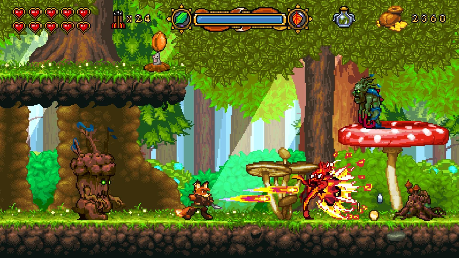 Retro inspirado en 'Fox' n 'Forests' es lanzado para PC y consolas