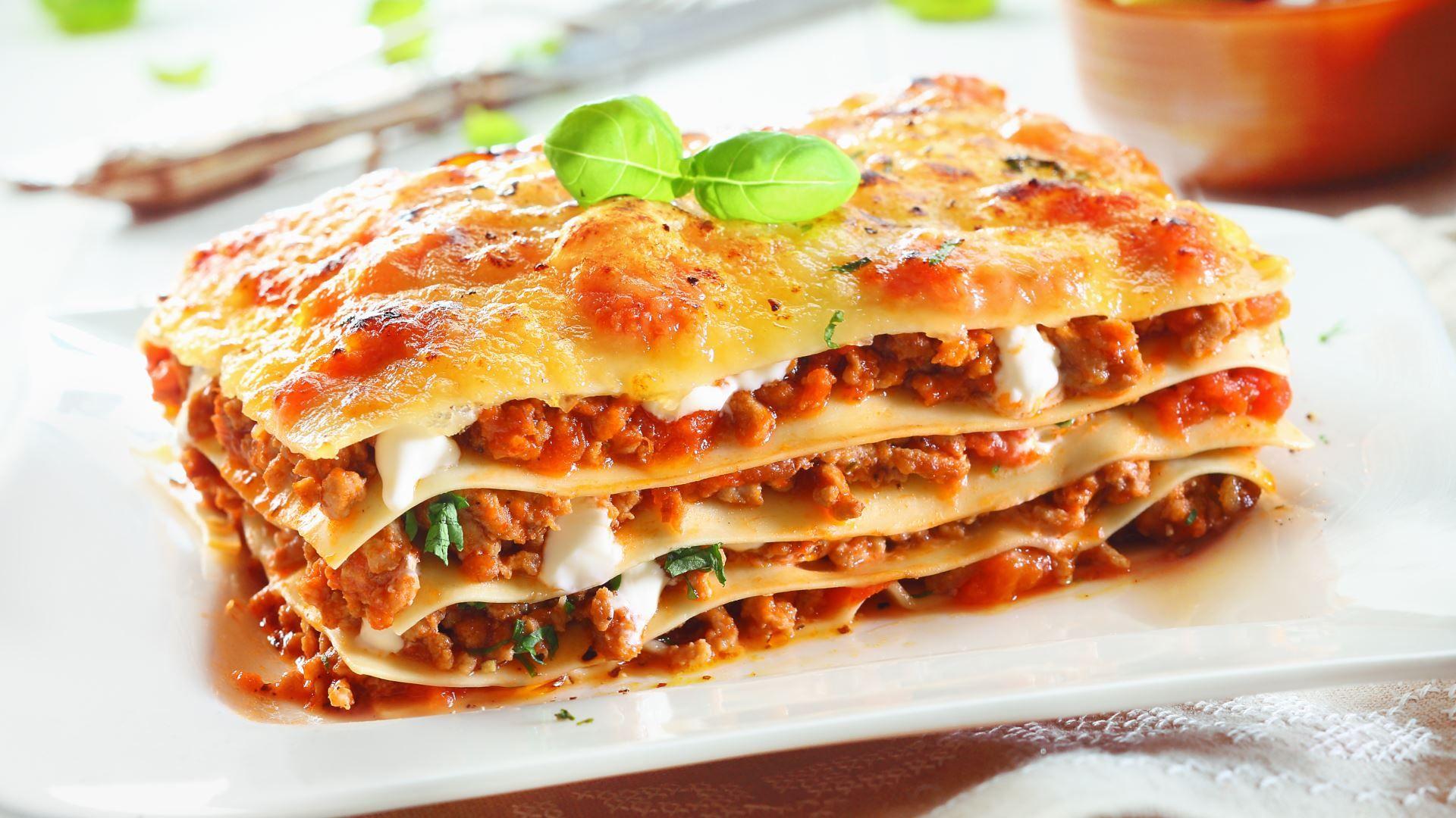 Recetas sin gluten: camarón carbonara y lasaña vegetariana
