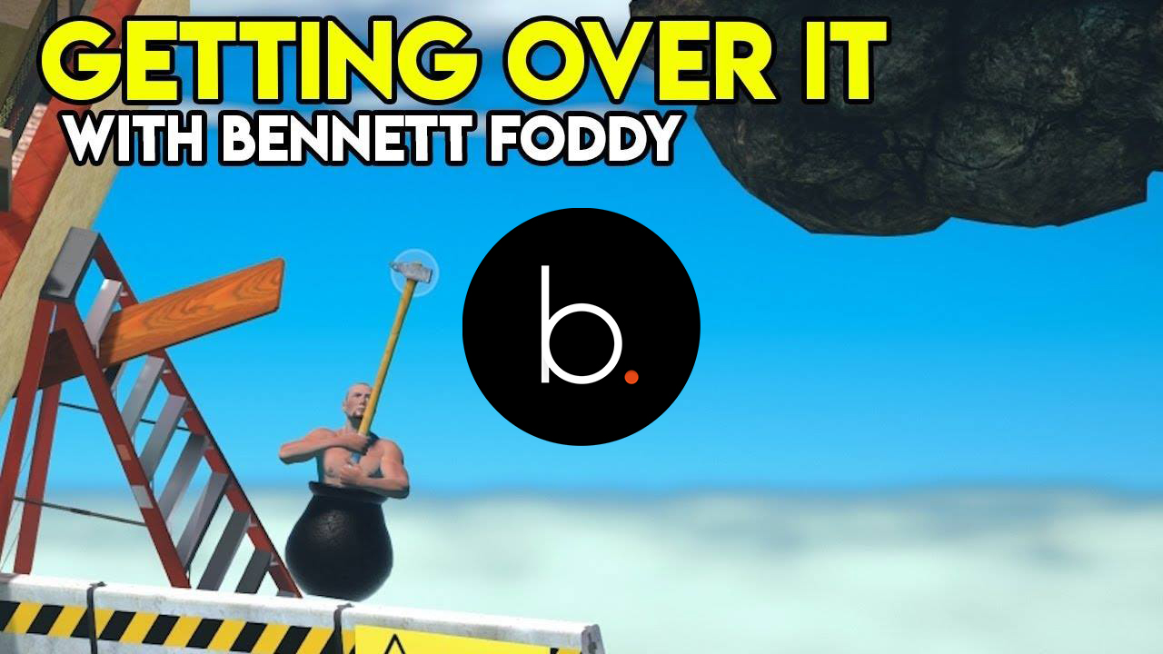 """Check out """"Getting Over It with Bennett Foddy"""""""